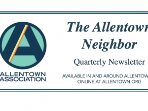 Allentown Neighbor Newsletter–Summer 2016