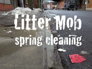 Spring Cleaning Litter Mob