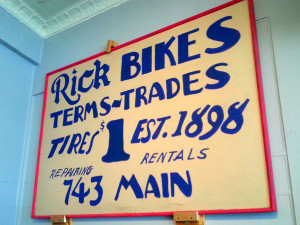 Business Spotlight: Rick Cycle Shop