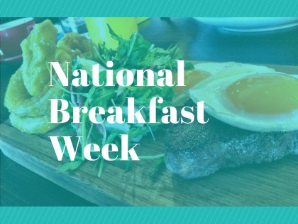 Celebrate National Breakfast Week in Allentown