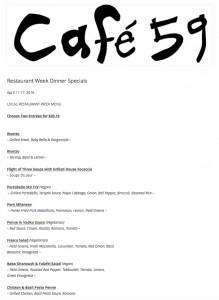 Cafe 59
