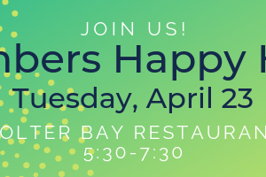 Members' Happy Hour – April 23